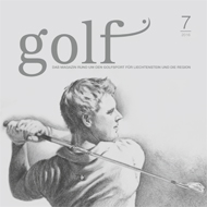 Golf Magazin FL Ausgabe 2016, Medienspiegel Caligari Golf AG