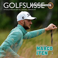 Golf Suisse, Ausgabe 01/2018, Medienspiegel Caligari Golf AG