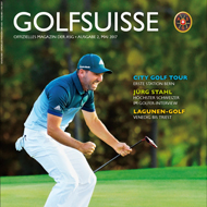 Golf Suisse, Ausgabe Mai 2017, Medienspiegel Caligari Golf