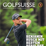 Golf Suisse (CH), Ausgabe Juni 2016, Medienspiegel Caligari Golf AG