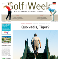 Golf Week, Ausgabe 13. Mai 2016, Medienspiegel Caligari Golf AG