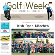 Golf Week, Ausgabe 10. Juni 2016, Medienspiegel Caligari Golf AG