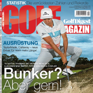 Golf Magazin (DE), Ausgabe Februar 2017, Medienspiegel Caligari Golf AG