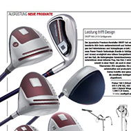 Golf Magazin (DE), Ausgabe 04/2018, Medienspiegel Caligari Golf AG
