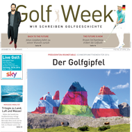 Golf Week, Ausgabe 29. April 2016, Medienspiegel Caligari Golf AG